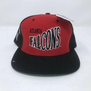 VTG Atlanta Falcons Snapback Hat NWT Nutmeg Wool